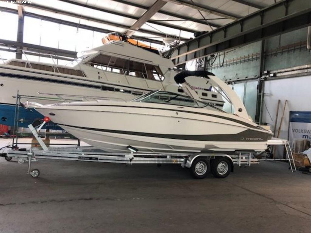 REGAL 2550 MODELL 2018 LAGERBOOT