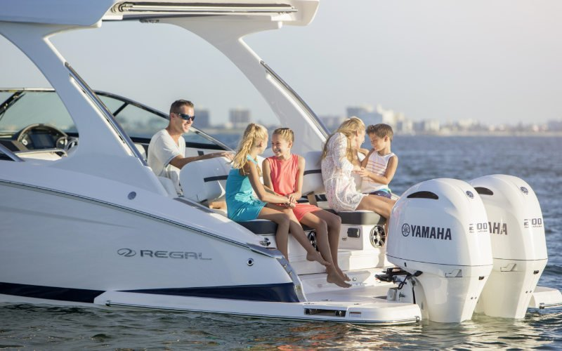 Regal Outboard 29 OBX Bild 4