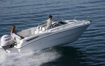 Karnic Boats SL600 In Fahrt 1