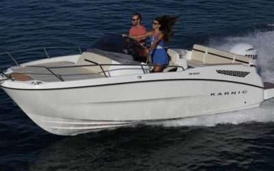 Karnic Boats SL602 In Fahrt 05
