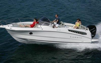 Karnic Boats SL702 In Fahrt 12
